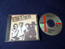 CD Return to Forever Best of greatest hits Chick Al di Meola Stanley Clarke Jazz