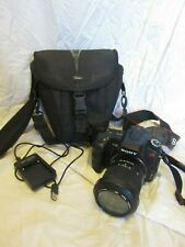 Sony Alpha A200 10.2MP Digital SLR Camera - Black (Kit with 18-70mm Lens)