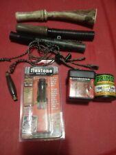 Lot Of Deer Game Hunting calls Grunt Rattle Bleat Flextone, Primos, Lohman