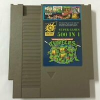 500 in 1 For for Nintend NES Classic Super Game Cartridge Contra TMNT Bubble☂E5