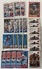 David Cone 24 Card Lot New York Mets Kansas City Royals Toronto Blue Jays