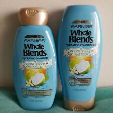 Garnier Whole Blends Coconut Water & Vanilla Milk Shampoo Conditioner Set 12.5oz