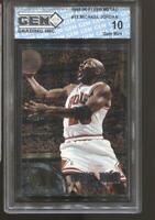 1995-96 Michael Jordan Fleer Metal #13 Gem Mint 10 Chicago Bulls HOF MVP