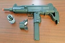 Refurbished Airsoft IWI Uzi AEG Kit with Bat, Chrgr, BBs, Free Shipping!