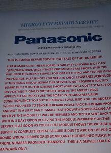 PANASONIC TX-P42ST30B  SN BOARD TNPA5330 (AB) REPAIR SERVICE PLEASE READ ADVERT