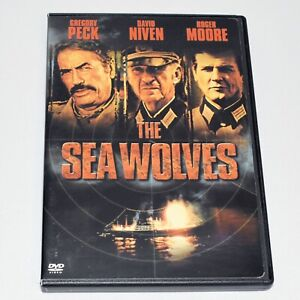 The Sea Wolves 1980 War Drama Gregory Peck Roger Moore Standard and Widescreen