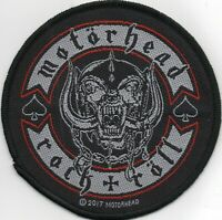 Motorhead Patch Rock n Roll Woven Patch