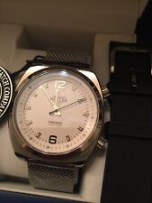 Mercer Watch Co Concorde White Automatic Men's Watch With 2 Bands BNIB