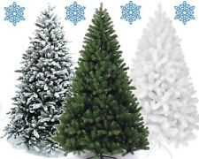 Weihnachtsbaum  Künstlicher Tannenbaum 30-240 cm Christbaum Grün Weiss Schnee