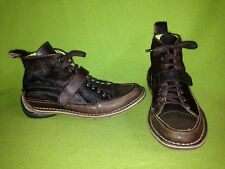Brown Leather & Hide Marithe + Francois Girbaud High Top Shoes 8 39