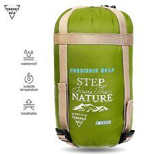 Portable Lightweight Mummy Sleeping Bag Waterproof Compact Port Camping Gear 50F