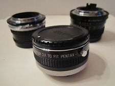 Konica Hexanon Ar 50 Mm F 1.7 Camera Lens & Pentax Soligor Lens & More - Ofc Cc