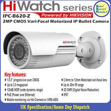 Hikvision Hiwatch IPC-B620-Z 2MP HD1080p VF 2.8-12mm Motorized IP Bullet Camera