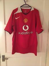 Manchester United 04/05 Home Shirt - Cristiano Ronaldo #7 - Men's Medium