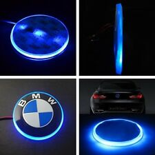 New 82mm 12V Badge Emblem LED Background Light Sticker For BMW 3 5 7 X Series