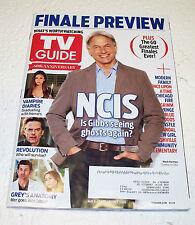 TV Guide Magazine May 5 2013 NCIS Vampire Diaries Revolution