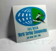 San Diego California Surfing Vintage Style Decal / Vinyl Sticker