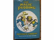 The Magic Pudding by Norman Lindsay,illustrated,1961 edit,H/c with d/w,Near Fine