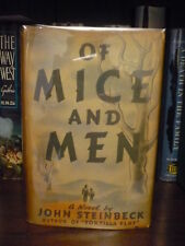 Of Mice and Men 1937 RARE Review Copy 1st Edition 1st Printing DJ John Steinbeck