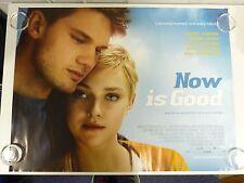 Now is Good Dakota Fanning Romance Original Film / Movie Poster Quad 76x102cm
