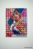 2019-20 Panini Mosaic MATISSE THYBULLE #245 Rookie PINK CAMO PRIZM RC 76ers