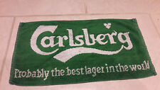 Carlsberg Larger Towel rare 20+ years old