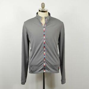 MALOJA Ataum Pachamama Long Sleeve Lightweight CYCLING Jacket Jersey / Gray XL