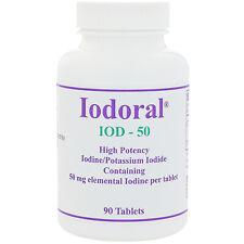 Iodoral, 50 mg, 90 Tablets