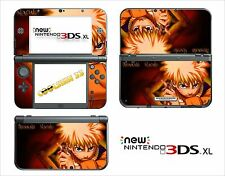 SKIN STICKER AUTOCOLLANT - NINTENDO NEW 3DS XL - REF 95 NARUTO