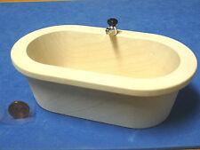 Puppenstuben & -häuser 1:12 Badewanne 14cm lang für die Puppenstube FL0894