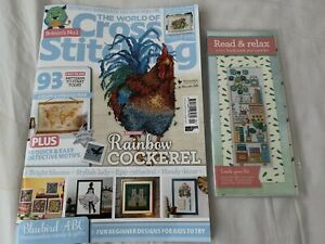 The World of Cross Stitching Magazine Issue 304 MARCH 2021 + Free Gift