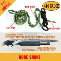 Bore Snake 410 G Gauge Rifle Shotgun Pistol Cleaning Boresnake Gun Brush Cleaner