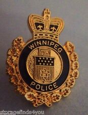 Winnipeg Police Mini BADGE Pin~FREE SHIPPING~