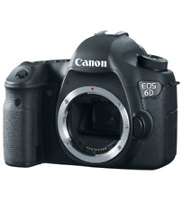 A - Canon EOS 6D Digital SLR Camera Body