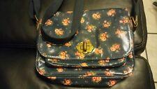 Cath Kidston London Bag Floral Shoulder Cross Body Handbag Coated Canvas