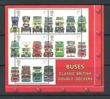 Qe2 2001 Buses Miniature Sheet Ms2215 Never Hinged Mint