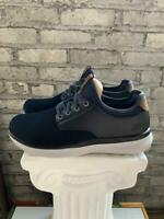 New Skechers Men's Streetwear Slip On Navy Black Memory Foam Shoes - Pick Size