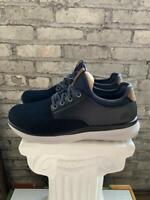 Skechers Men's Streetwear Slip On Navy Black Memory Foam Shoes - Pick Size