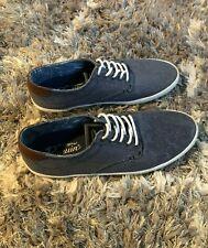 Mens Original Penguin Douglas Shoe- Size 9 - Blue - Low Top Dress Shoes - Men -