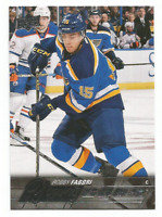 2015-16 UD Young Guns #229 Robby Fabbri RC Rookie St. Louis Blues