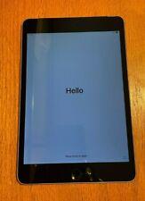 Apple iPad mini 4 128GB, Wi-Fi + Cellular (Verizon), 7.9in - Space Gray