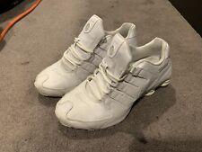 Nike Shox NZ White Running Shoes Men's US9.5 378341-128