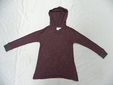 Roxy Girls Leena Purple Hoodie Pullover Sweaters Sz 10 Surf Skate
