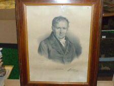 [MATHEMATIQUES PHYSIQUE] RARE GRAVURE ca 1840 PORTRAIT SIMEON DENIS POISSON