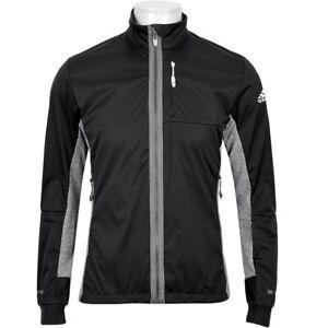 Adidas Dsv Men's Softshell Jacket Running Outdoor Cycling Black Gray S