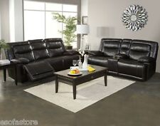 Elegance Style Dual Reclining Sofa Loveseat & Recliner Living Room 3pc Set