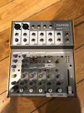 MACKIE Tapco Mix 100 - 10-Channel Mixer. With Power Supply