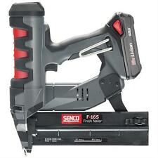 SENCO FN65 FUSION F-16S CORDLESS 18V FINISH NAIL GUN KIT DA BRADDER Brad NAILER