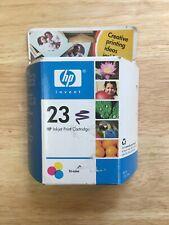 HP Inkjet Print Cartridge 23 Tri-color