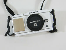 Olympus PEN E-P3 12.3MP Digitalkamera weiß Body Systemkamera